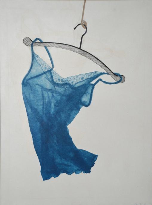 Blue Camisole