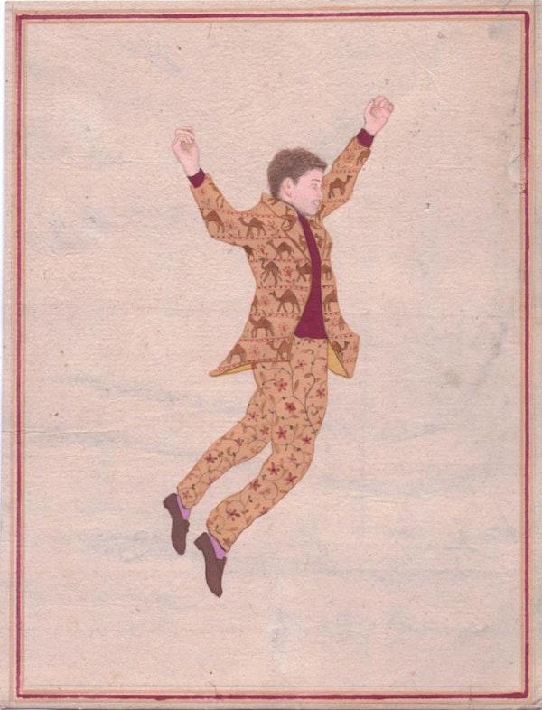 Jethro in Camel Suit