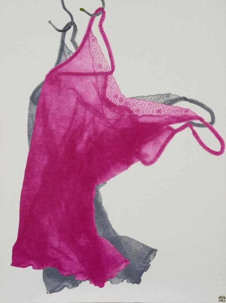 Pink & Grey Camisoles