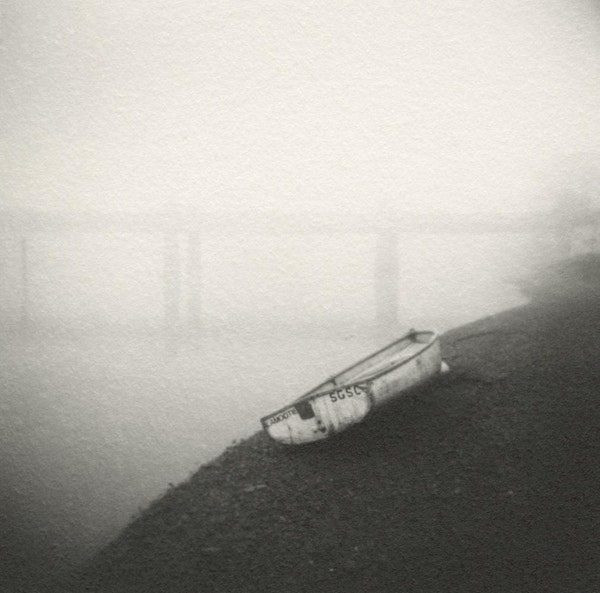 Boat on Shingle, Thames