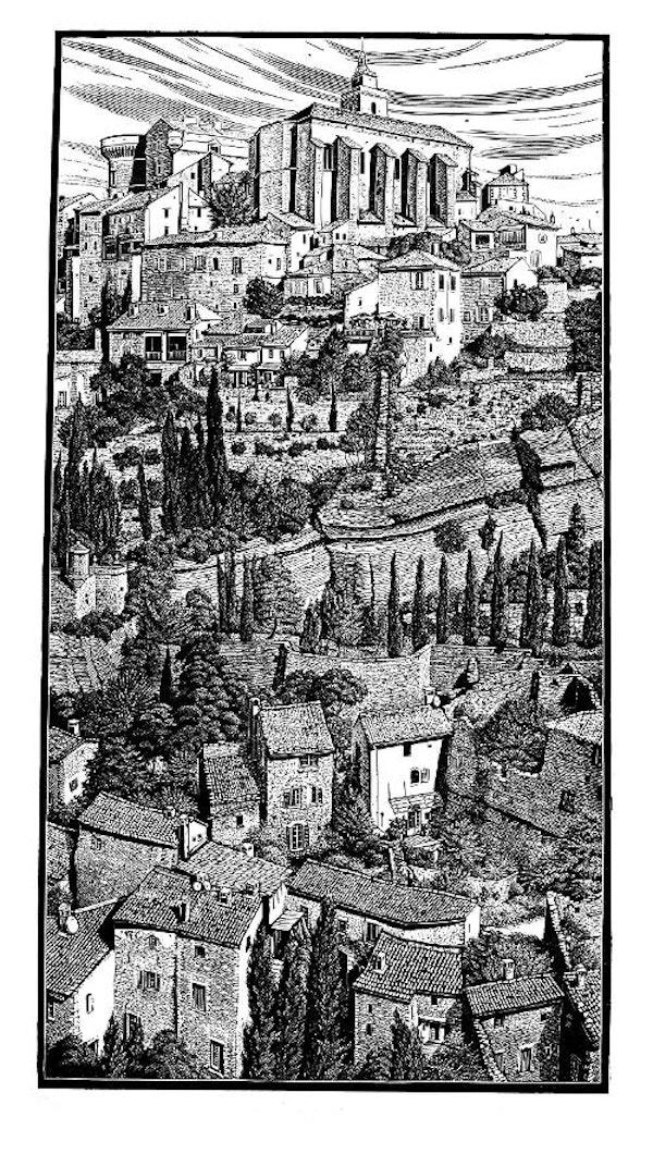 Gordes, Provence BARRY WOODCOCK