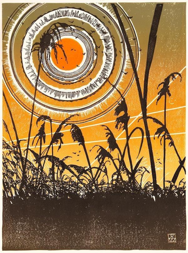 Dawn at Marley Fen, Wytham (Robin Wilson)