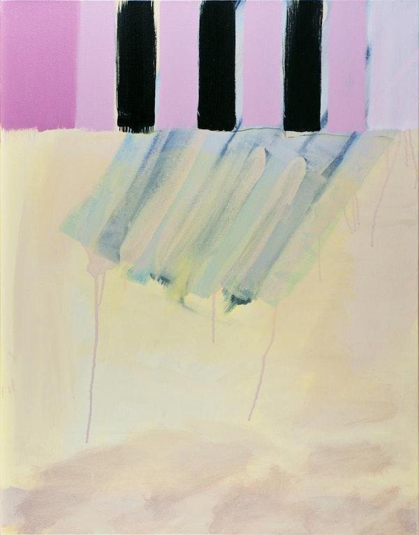Untitled - 3 Blue Stripes