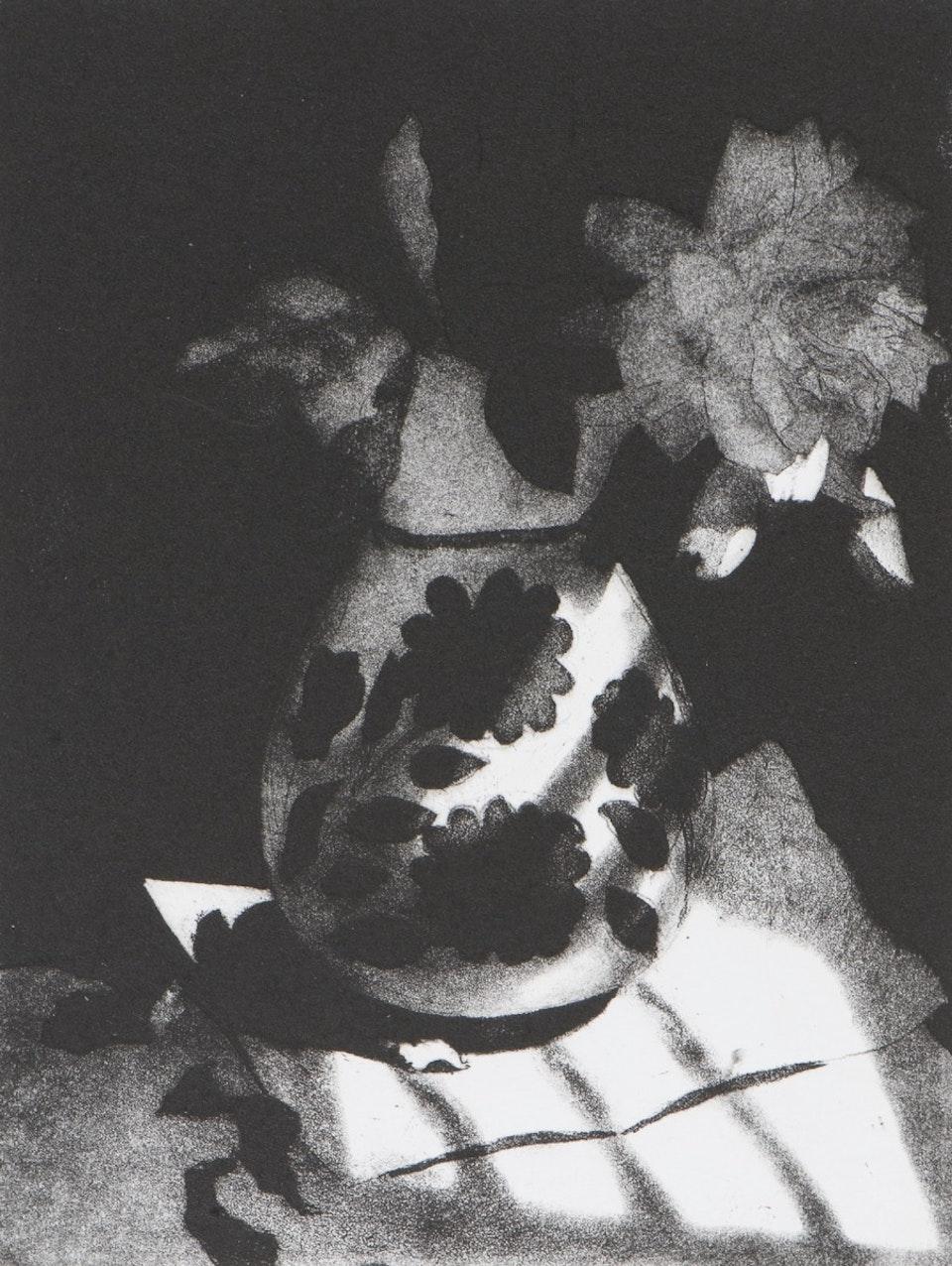 Jeff Clarke 'English Rose, Cretan Vase'