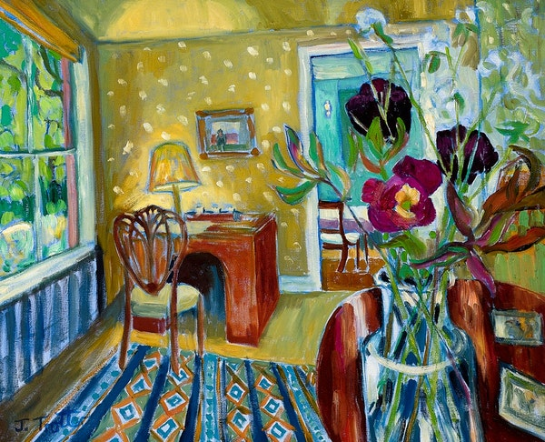 Interior with Tulips 2016
